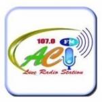 Logo da emissora Radio Aci 107.0 FM