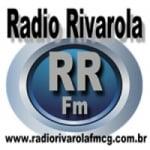 Logo da emissora Rádio Rivarola Fmcg