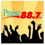 Logo da emissora WELL 88.7 FM Praise