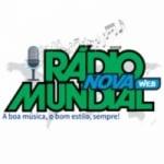 Logo da emissora Rádio Nova Mundial Web