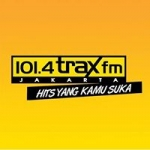 Logo da emissora Radio Trax 101.4 FM