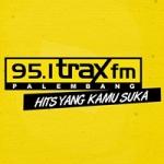 Logo da emissora Radio Trax 95.1 FM