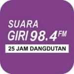 Logo da emissora Radio Suara Giri 98.4 FM