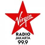 Logo da emissora Virgin Radio Jakarta 99.9 FM