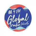 Logo da emissora Global Radio Jakarta 88.4 FM