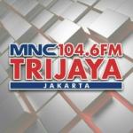 Logo da emissora Radio MNC Trijaya 104.6 FM