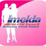 Logo da emissora Radio Imelda 104.4 FM