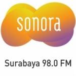 Logo da emissora Radio Sonora 98.0 FM