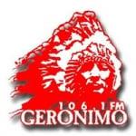 Logo da emissora Radio Geronimo 106.1 FM