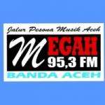 Logo da emissora Radio Megah 95.3 FM