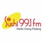 Logo da emissora Radio Sushi 99.1 FM