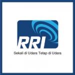 Logo da emissora Radio Republik Indonesia Palu