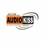 Logo da emissora Radio Audiokiss 90.7 FM