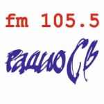Logo da emissora Radio CB 105.5 FM