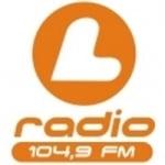 Logo da emissora L Radio 104.9 FM