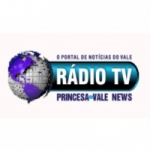 Logo da emissora Rádio TV Princesa do Vale News