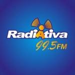 Logo da emissora Rádio Radiativa 99.5 FM