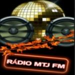 Logo da emissora Rádio MTJ FM