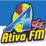Logo da emissora Rádio Ativa 96.5 FM