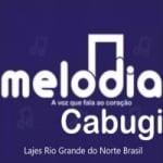 Logo da emissora Rádio Melodia Cabugi