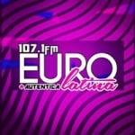 Logo da emissora Radio Eurolatina 107.1 FM