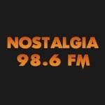 Logo da emissora Radio Nostalgia 98.6 FM