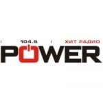 Logo da emissora Radio Power Hit 104.5 FM