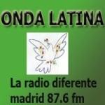 Logo da emissora Radio Onda Latina 87.6 FM