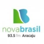 Logo da emissora Rádio Nova Brasil 93.5 FM