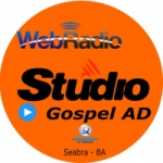 Logo da emissora Radio Estúdio Gospel AD