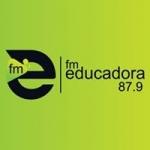 Logo da emissora Rádio FM Educadora 87.9