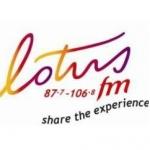 Logo da emissora Radio Lotus 87.7 FM
