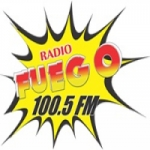 Logo da emissora Radio Fuego 100.5 FM