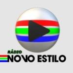 Logo da emissora Rádio Novo Estilo