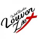 Logo da emissora Louvorzão Web