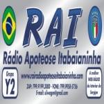 Logo da emissora RAI -  Rádio Apoteose Itabaianinha