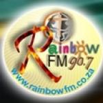 Logo da emissora Radio Rainbow 90.7 FM