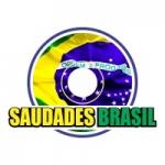 Logo da emissora Rádio Saudades Brasil