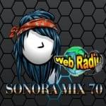 Logo da emissora Sonora Mix 70