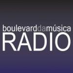 Logo da emissora Rádio Boulevard da Música