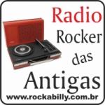 Logo da emissora Rockabilly Rocker das Antigas