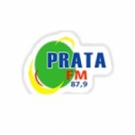 Logo da emissora Rádio Prata 87.9 FM