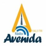 Logo da emissora Rádio Avenida 106.5 FM