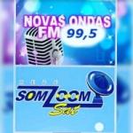Logo da emissora Rádio Novas Ondas 99.5 FM