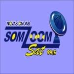 Logo da emissora Rádio Novas Ondas Somzoom Sat 99.5 FM