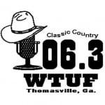 Logo da emissora Radio WTUF 106.3 FM