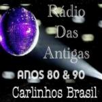 Logo da emissora Rádio Das Antigas FM