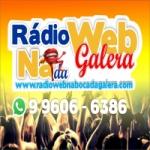 Logo da emissora Rádio Web Na Boca da Galera