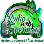 Logo da emissora Web  Rádio Esperança FM Alagoas