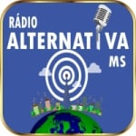 Logo da emissora Rádio Alternativa MS